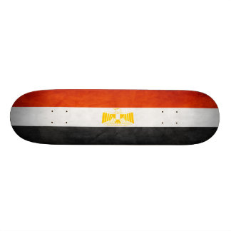 Ägyptisches Flaggen-Skateboard Skateboard
