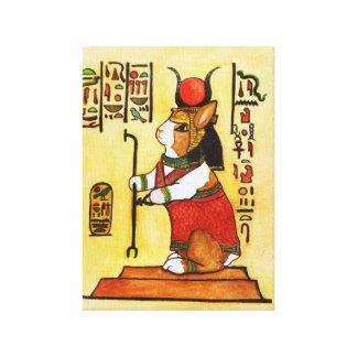 ägyptisches Häschen Galerie Gefaltete Leinwand