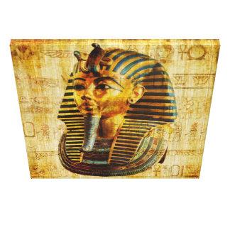 Ägyptisches Pharao Leinwand Druck