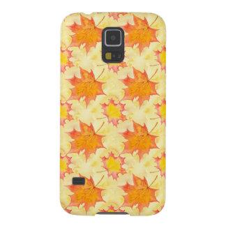 Ahorn-Blätter Samsung Galaxy S5 Hülle