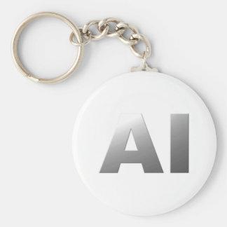 AI artificial intelligence Schlüsselanhänger