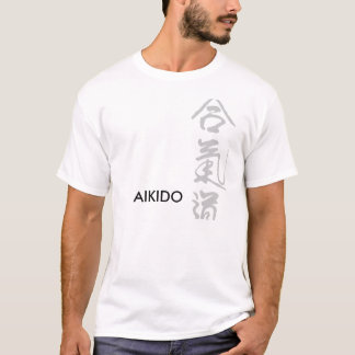 AIKIDO-LICHT-ENTWURFS-T-SHIRT T-Shirt