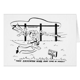 Aircrewman Flügel Karte