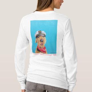 Airedale-Seemann-Kapitän Shirt