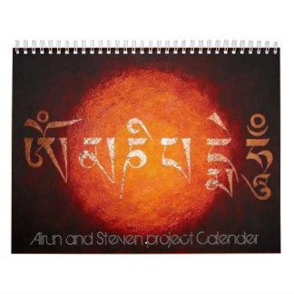 Airun und Steven-Projekt Kalender