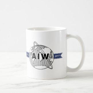 AIW 25. Jahrestags-Logo auf jeder Seite Tasse