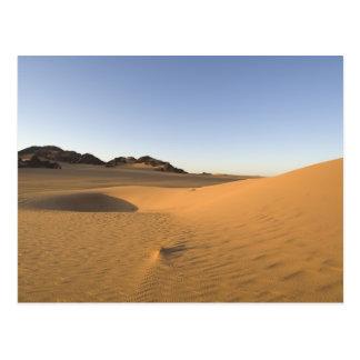 Akakus, Sahara-Wüste, Fezzan, Libyen Postkarte