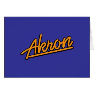 Akron in der Orange Karte