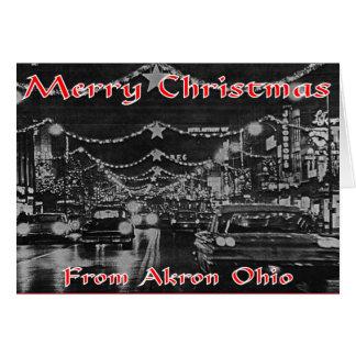 Akron-Weihnachtskarte Karte