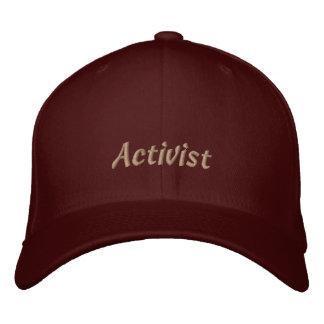 Aktivist gestickte Kappe Bestickte Mützen