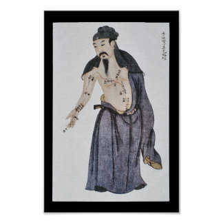 Akupunktur-Herzbeutel-Mittagshand Jueyin Poster