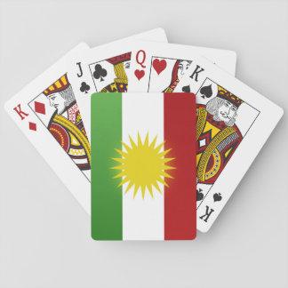 Ala-Kurdistanli ser karta lîstik Pokerdeck
