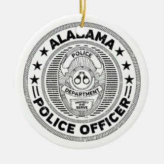 Alabama-Polizeibeamte Keramik Ornament