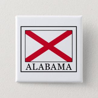 Alabama Quadratischer Button 5,1 Cm