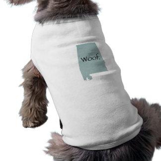 Alabama-Schuss! Ärmelfreies Hunde-Shirt