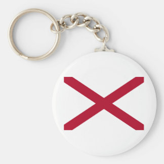 Alabama Standard Runder Schlüsselanhänger
