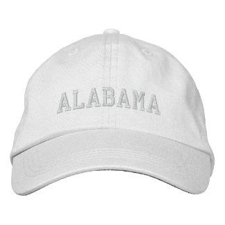 Alabama stickte grundlegendes justierbares Kappen- Bestickte Caps