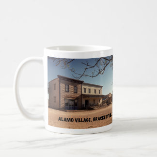 Alamo-Dorf-Film-Standort Tasse