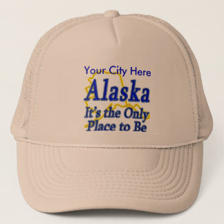Alaska ist es der einzige Platz, zum zu sein Truckerkappe