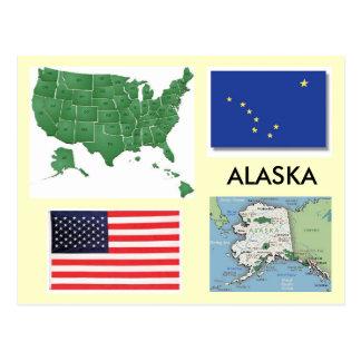 Alaska, USA Postkarte