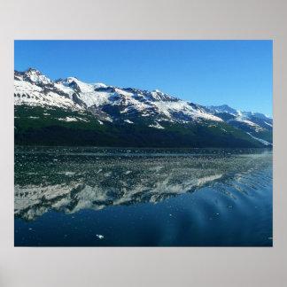 Alaskische Küstenlinien-schöne Natur-Fotografie Poster
