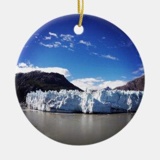 Alaskischer Gletscher Keramik Ornament