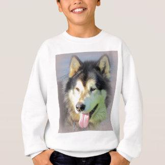 Alaskischer Malamute-Hund Sweatshirt