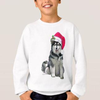 alaskischer Malamute Weihnachten Sweatshirt