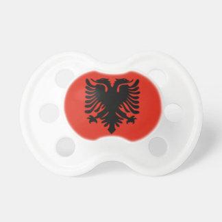 Albanien 0-6 Monat alte Flaggen-Schnuller Schnuller