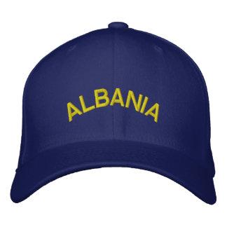 ALBANIEN BESTICKTES BASEBALLCAP