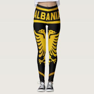 Albanien-Emblem Leggings