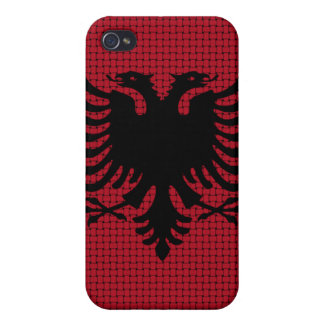 Albanien-Flagge iPhone 4 Schutzhülle