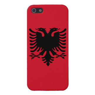 Albanien-Flagge iPhone 5 Case