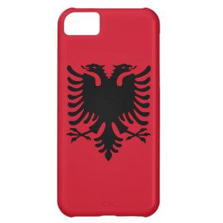 Albanien-Flagge iPhone 5C Hülle