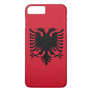 Albanien-Flagge iPhone 8 Plus/7 Plus Hülle