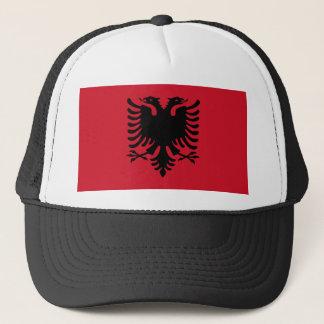 Albanien-Flaggen-Hut Truckerkappe