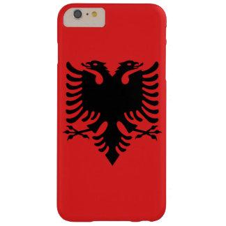Albanien-Flaggen-Telefon-Kasten Barely There iPhone 6 Plus Hülle