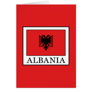 Albanien Grußkarte