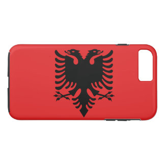 Albanien iPhone 8 Plus/7 Plus Hülle
