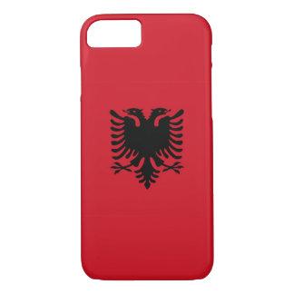 Albanien-Landesflaggekasten iPhone 8/7 Hülle