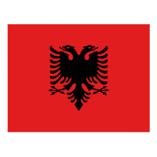Albanien Postkarte