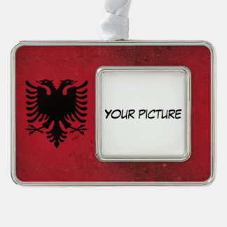 Albanien Rahmen-Ornament Silber