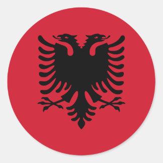 Albanien Runder Aufkleber