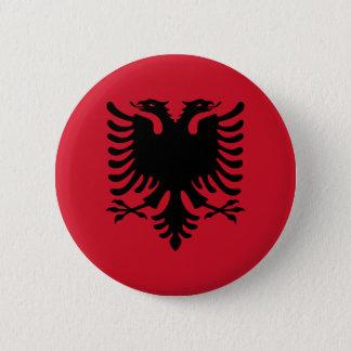Albanien Runder Button 5,7 Cm