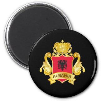 Albanien Runder Magnet 5,1 Cm