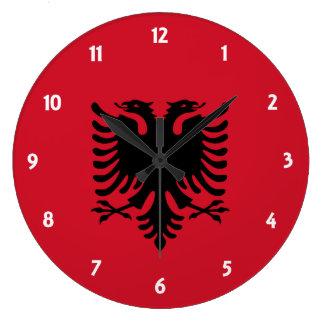 Albanien Wanduhr