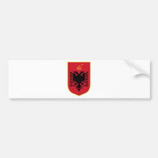 Albanien-Wappen Autoaufkleber