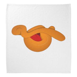 Alberner Enten-Gesichts-Cartoon Halstuch