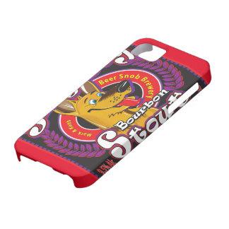Albernes Hundebourbon-Stout-Bier iPhone 5 Schutzhülle