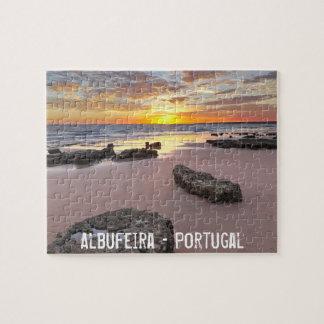 Albufeira - Portugal. Sommerferien in Algarve Puzzle